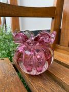Cristal de Murano Trouxinha Rosa