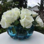 Cristal de Murano Vaso Azul