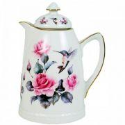 Garrafa Térmica Porcelana Roses