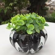 Mini Vasinho de Cristal de Murano Preto