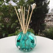 Porta Difusor Jade de Murano Cristal