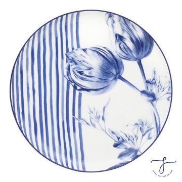 Prato de Jantar Coup Tulipa