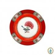 Prato de Pão Vermelho - Blushing Birds