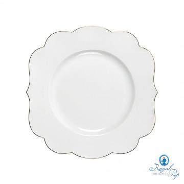 Prato de Sobremesa - Royal White