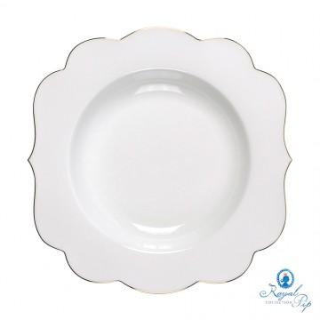 Prato de Sopa - Royal White