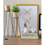 Quadro Butterfly Gold