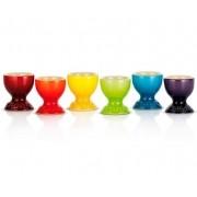 Set 6 Suportes Para Ovo Gift Collection Colorido