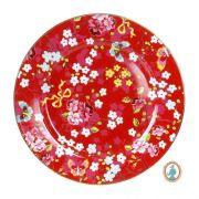 Sousplat Pip Studio - Floral Vermelho