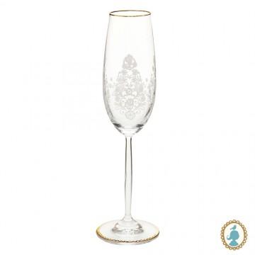 Taça p/ Champagne Floral 2.0