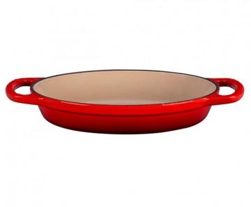 Travessa Oval 20cm Vermelho