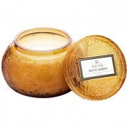 Vela Pote Vidro Chawan Baltic Amber 50H