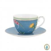 Xícara de Chá Azul - La Majorelle