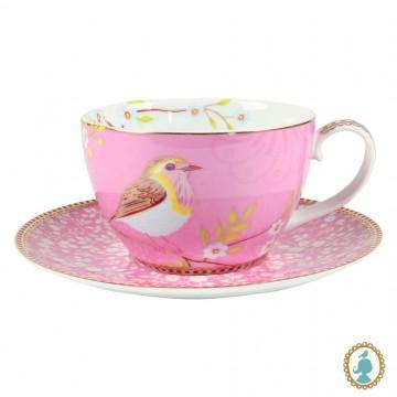 Xícara de Chá Rosa - Early Bird