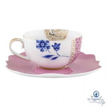 Xícara de Chá Rosa - Royal