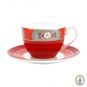 Xícara de Chá Vermelho - Blushing Birds