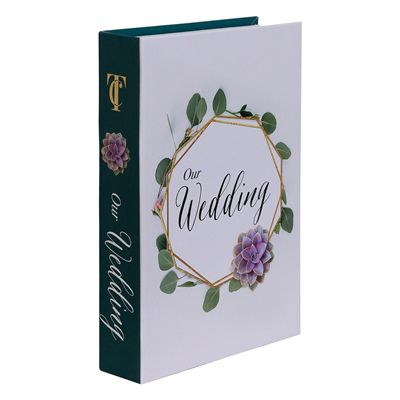 Book Box Our Wedding