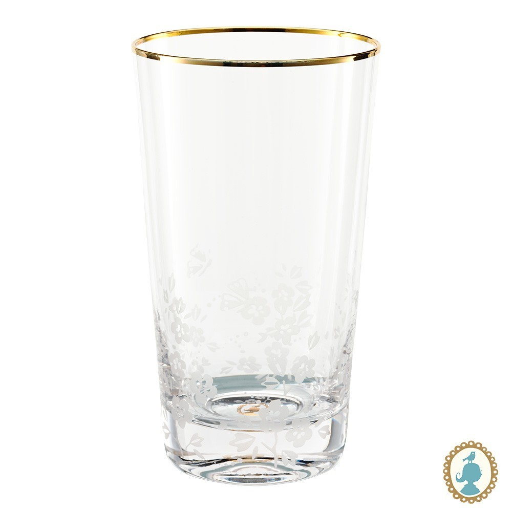 Copo Pip Studio  Longdrink Clear - Blushing Birds