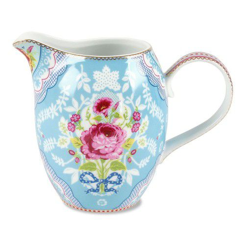 Jarra Pip Studio - Grande Floral 950ml Azul