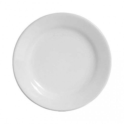 Jogo 06 Pratos Sobremesa Branco