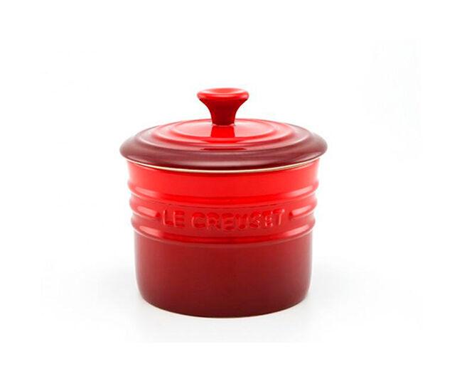 Porta Condimento Grande Vermelho Cerise