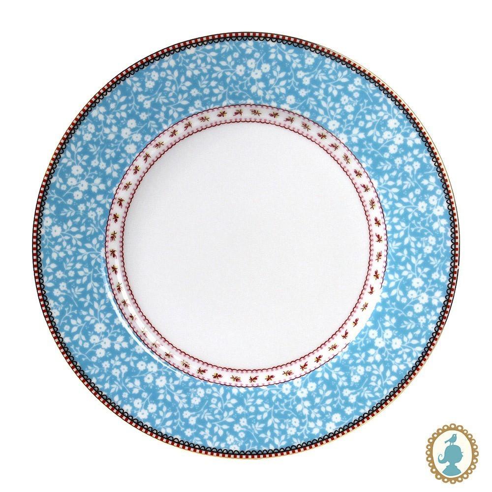 Prato de Jantar Azul - Early Bird