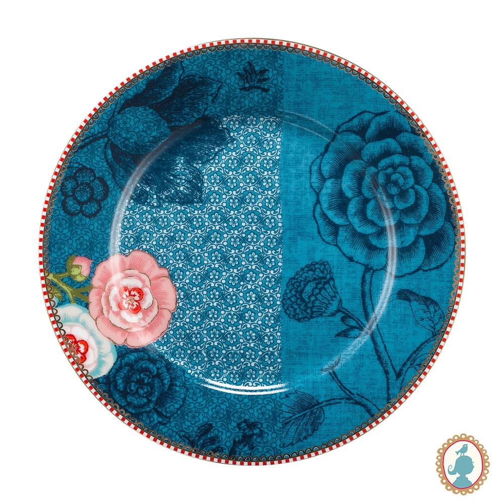 Prato de Sobremesa Azul - Spring to Life