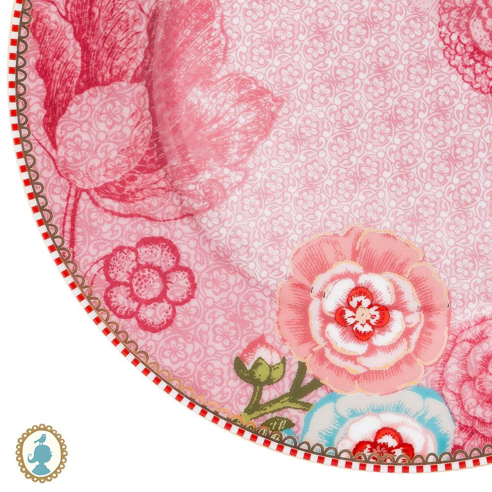Prato de Sobremesa Rosa - Spring to Life