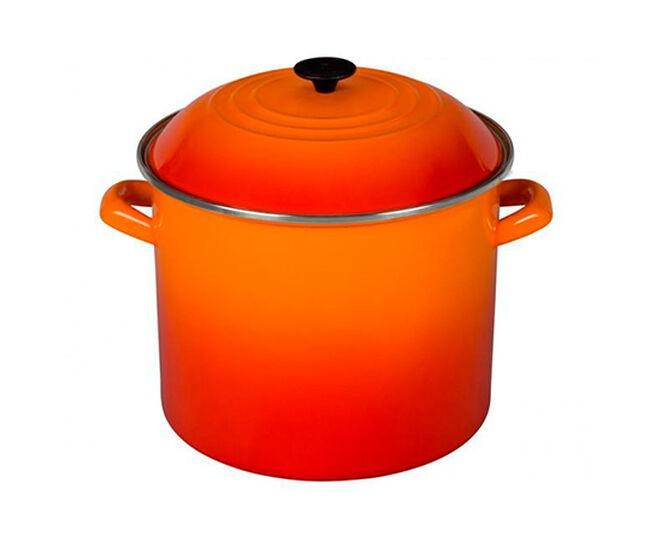 Stock Pot Laranja Flame 26 cm
