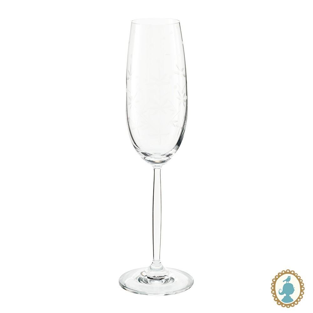 Taça p/ Champagne Lapidado - Basic