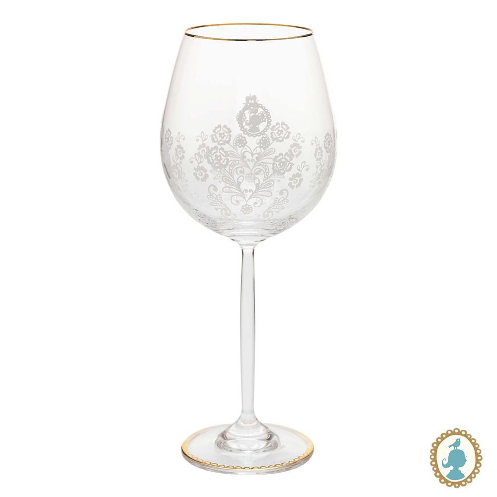 Taça p/ Vinho - Floral 2.0
