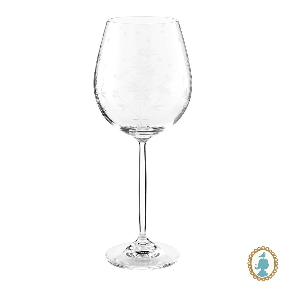 Taça p/ Vinho Lapidada - Basic
