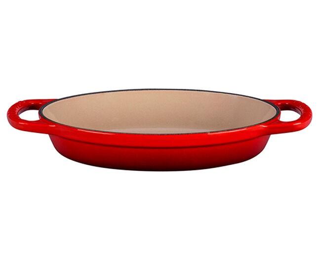 Travessa Oval 24cm Vermelho