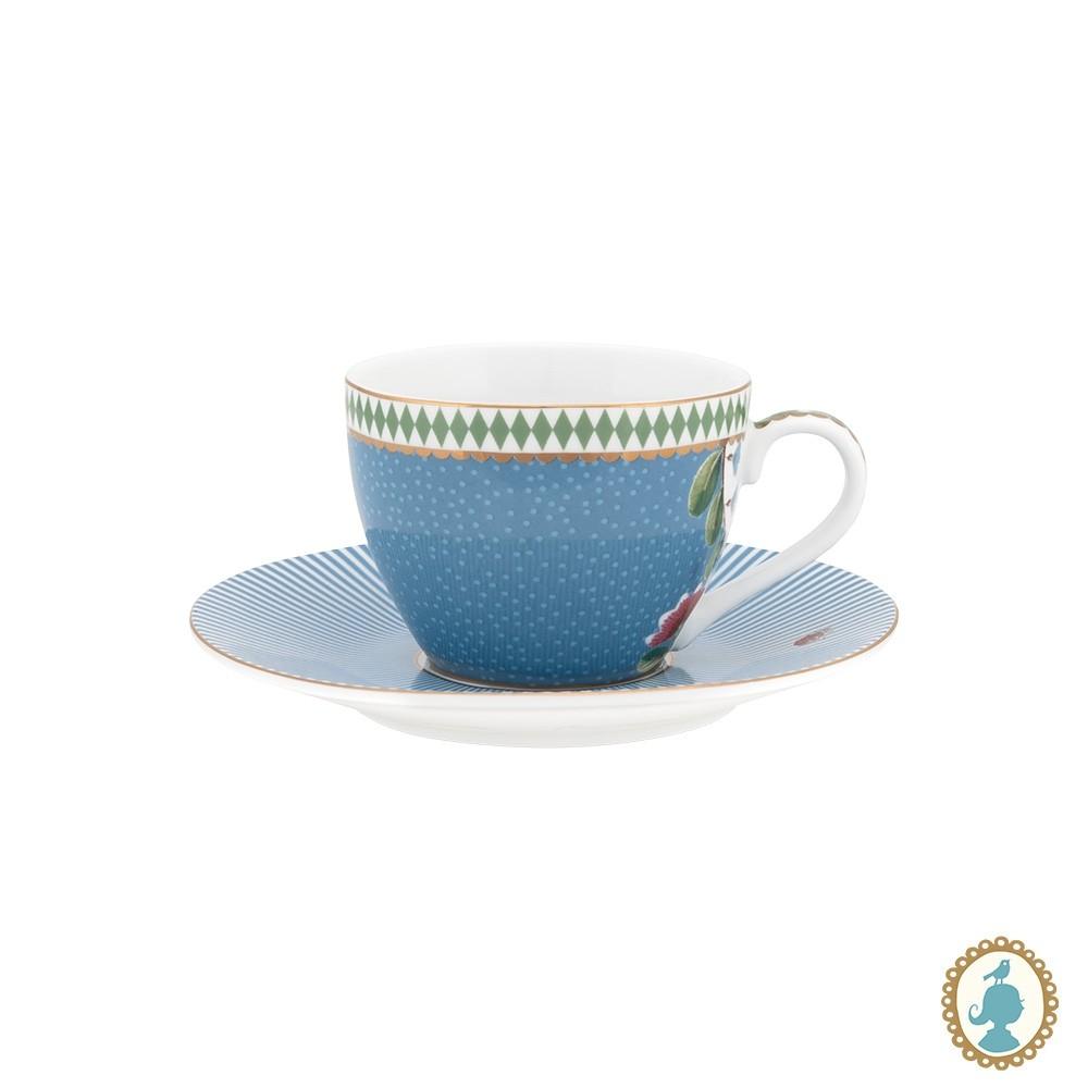 Xícara de Cafezinho Azul - La Majorelle