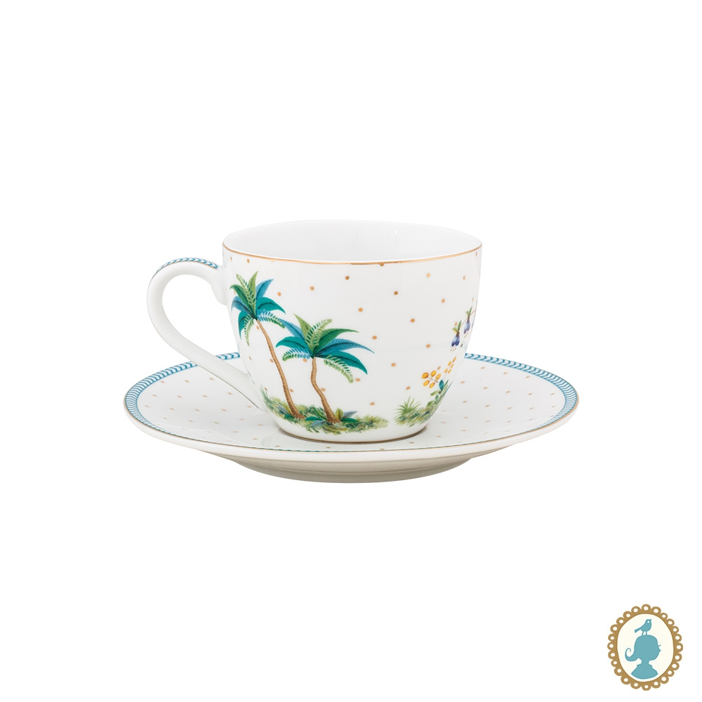 Xícara de Cafezinho Dots Branco - Jolie