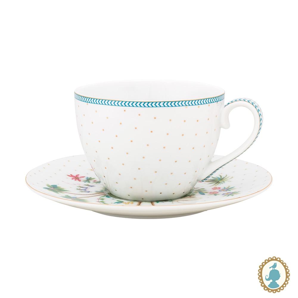 Xícara de Chá Dots Branco - Jolie