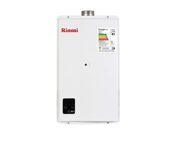 Aquecedor a gás Rinnai 32,5 litros REU-E33-FEHBN3 branco