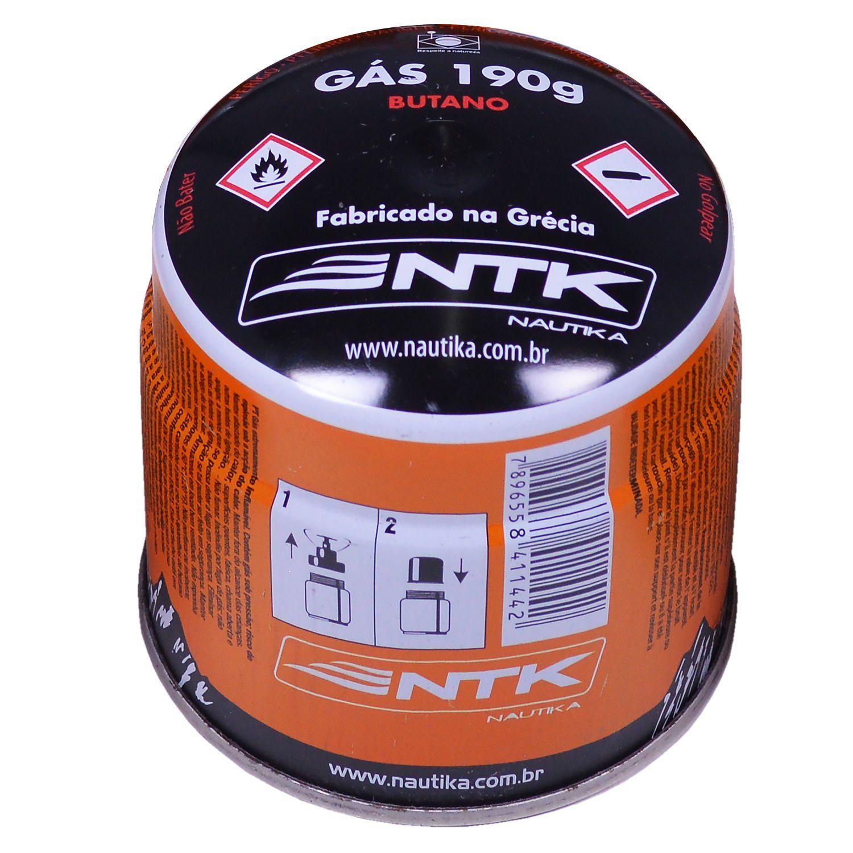 Cartucho de Gás para Fogareiros e Maçaricos Nautika - Campgás 190g