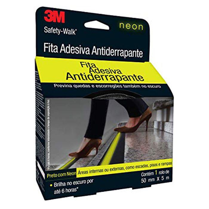 Fita Antiderrapante 3M Safety-Walk Neon - 50mm x 5m