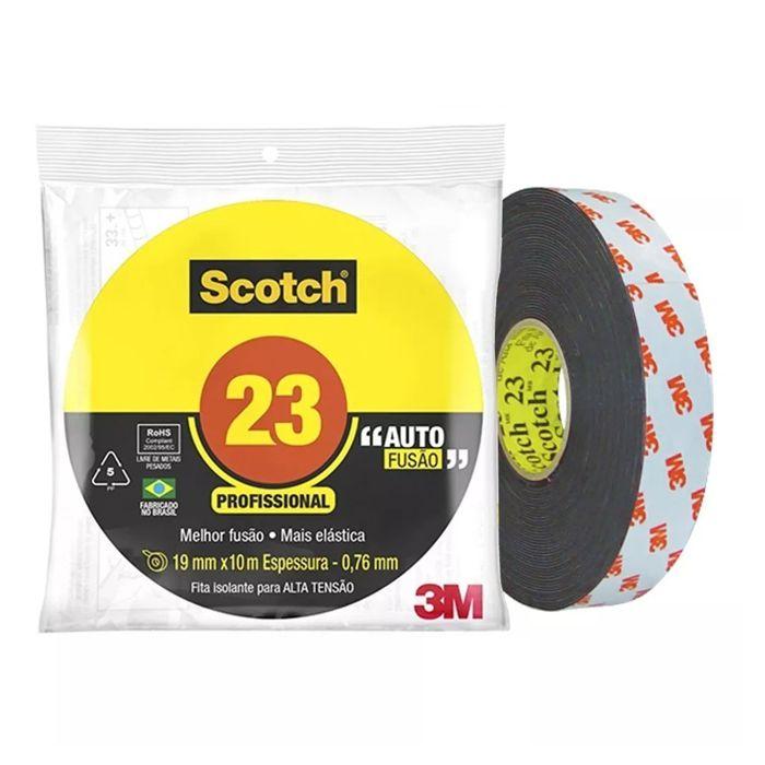 Fita de Autofusão 3M™ Scotch™ 23 - 19mm x 10m