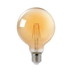 LÂMPADA LED FILAMENTO G125 4W  E27