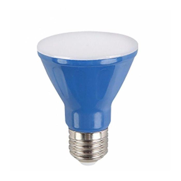 Lâmpada LED Par 20 6w Azul  Bivolt E27 Kian