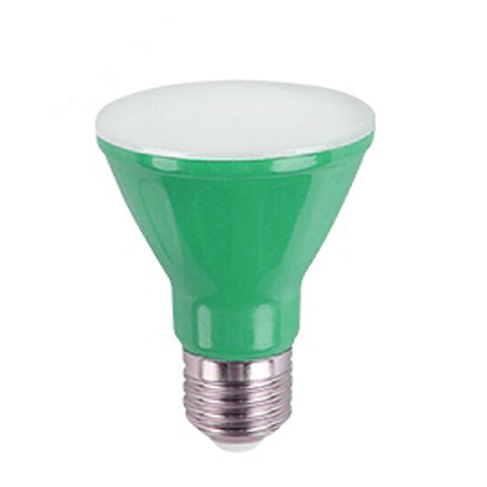 Lâmpada LED Par 20 6w verde  Bivolt E27 Kian