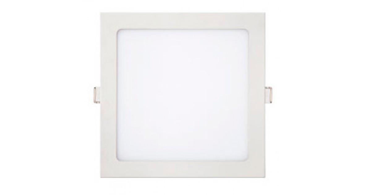 Luminária Painel de Embutir LED Slim Quadrada 32w 6500k Branco Frio Kian