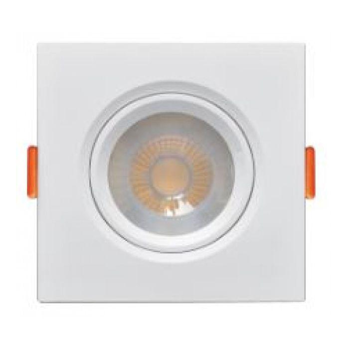 Luminária spot Fênix 2 Par 20 Quadrada 7w 6000k Branca Kian bivolt