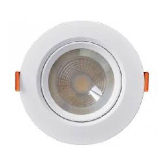 Luminária spot  MR11  3w Redonda 6000k Branca Kian Bivolt Economax