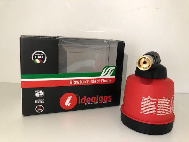 Maçarico Portátil a Gás - Automático Idealgas Carga 190g