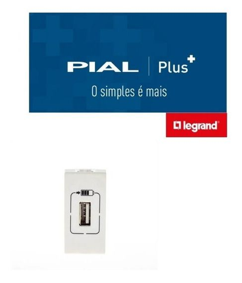 Modulo Carregador USB Pial Plus +