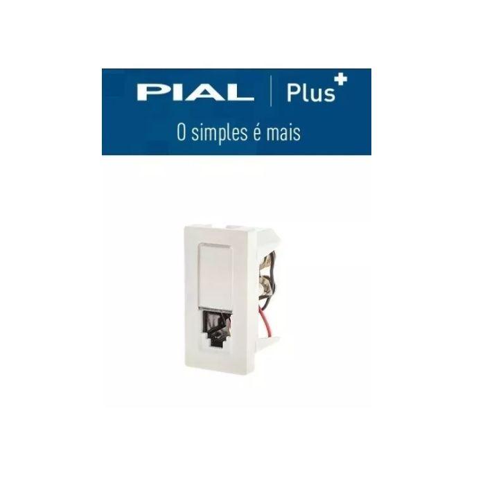 Pial Plus + Modulo Tomada Telefone Rj 11