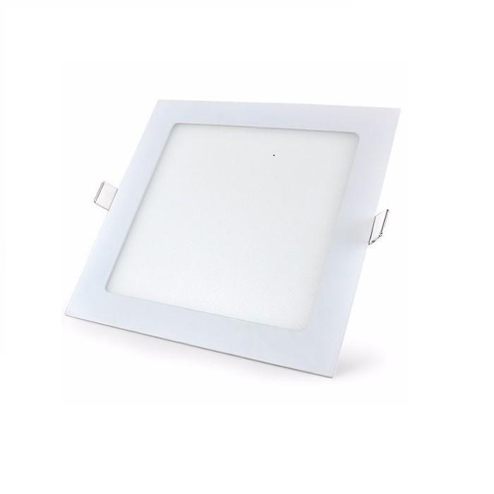 Painel de LED Quadrado Embutir Branco Frio 6500k 36w Bivolt Demi