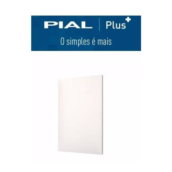 Placa 4x2 Cega Pial Plus +
